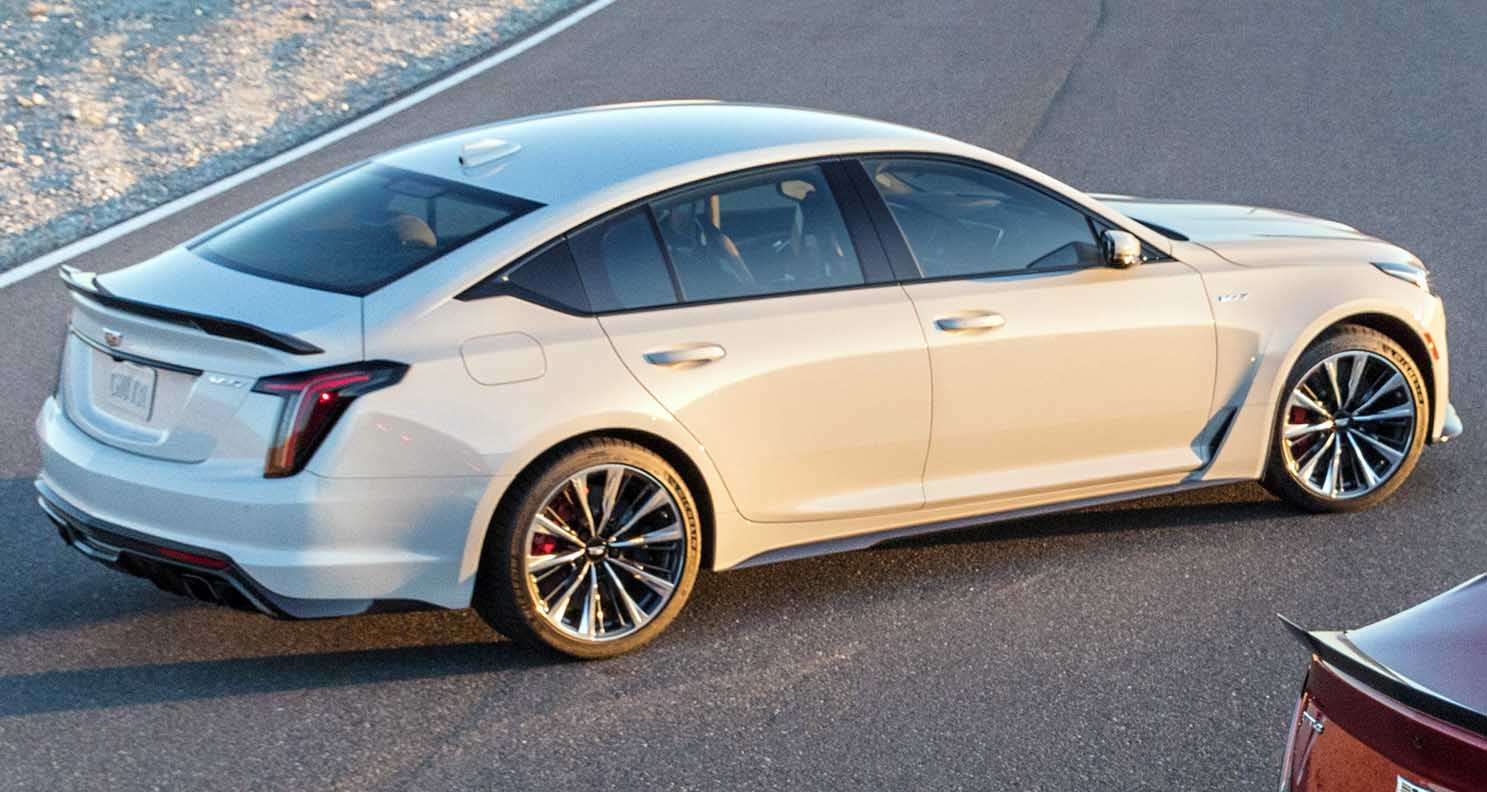The All New Cadillac Ct5 V Blackwing Details