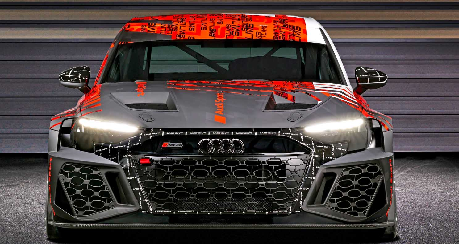 World premiere of the new Audi RS 3 LMS