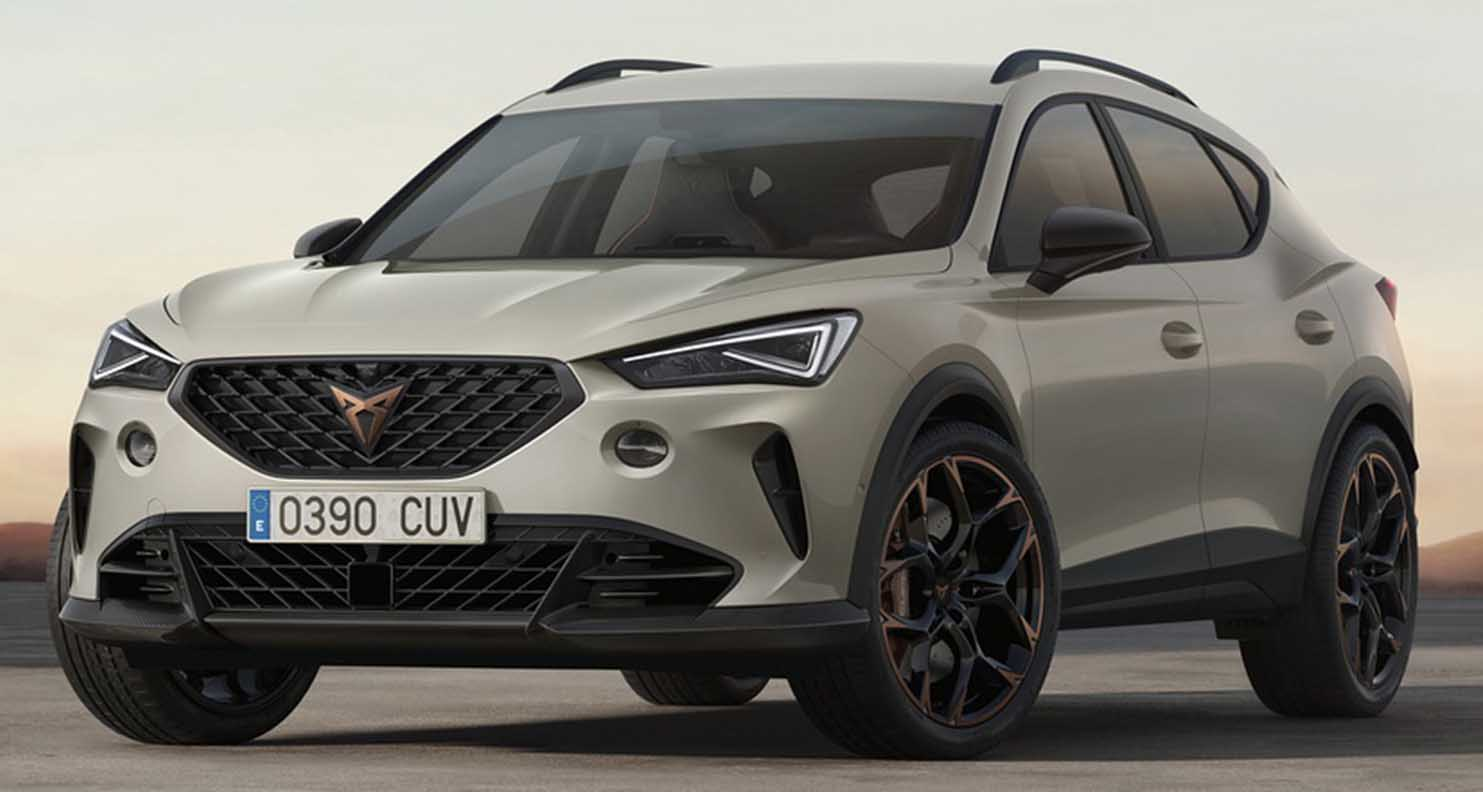 Cupra Formentor VZ5 – A Seat Like You've Never Seen Before
