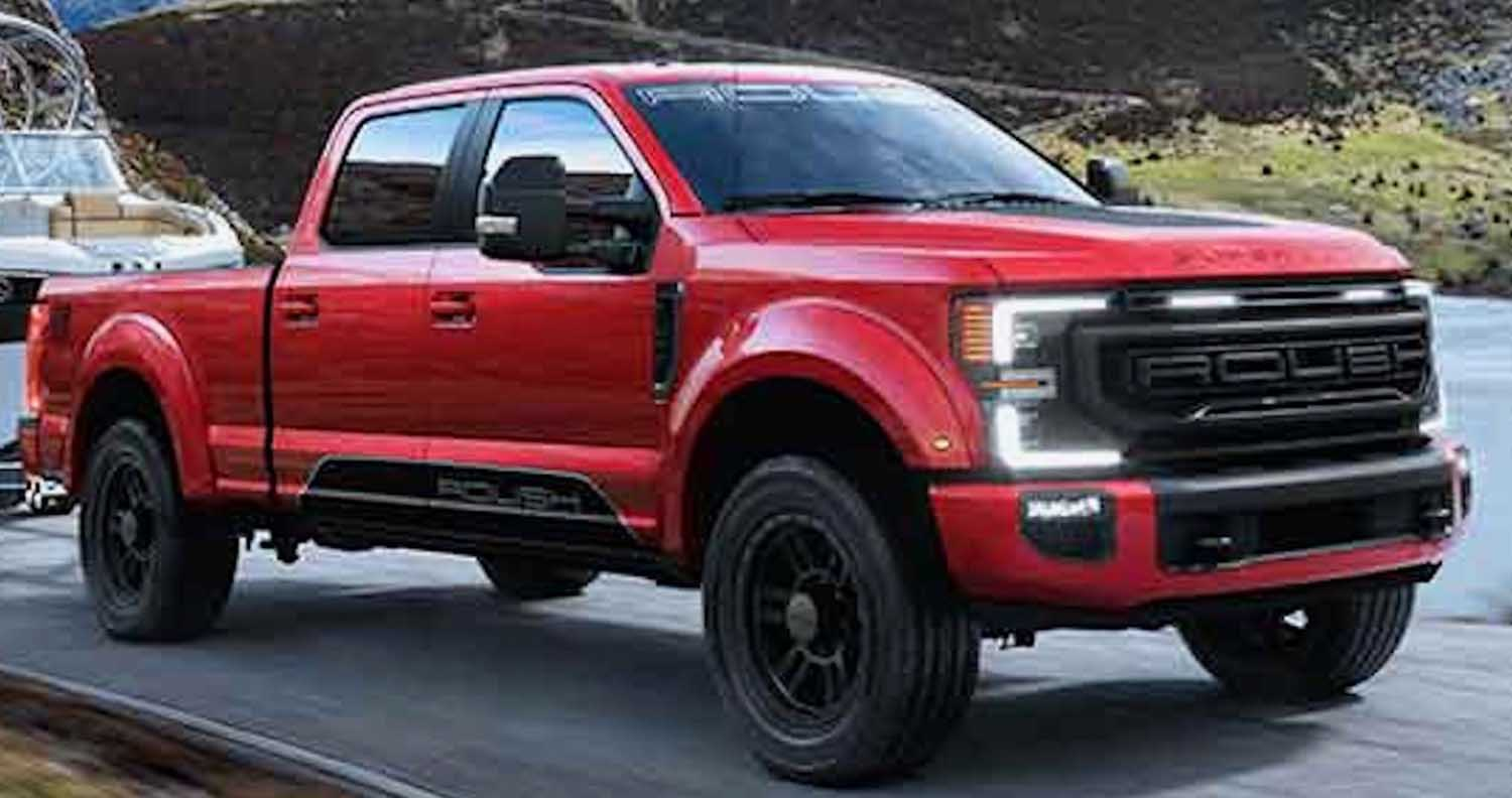 2021 Ford Super Duty – Proven Capability With Signature ROUSH Style