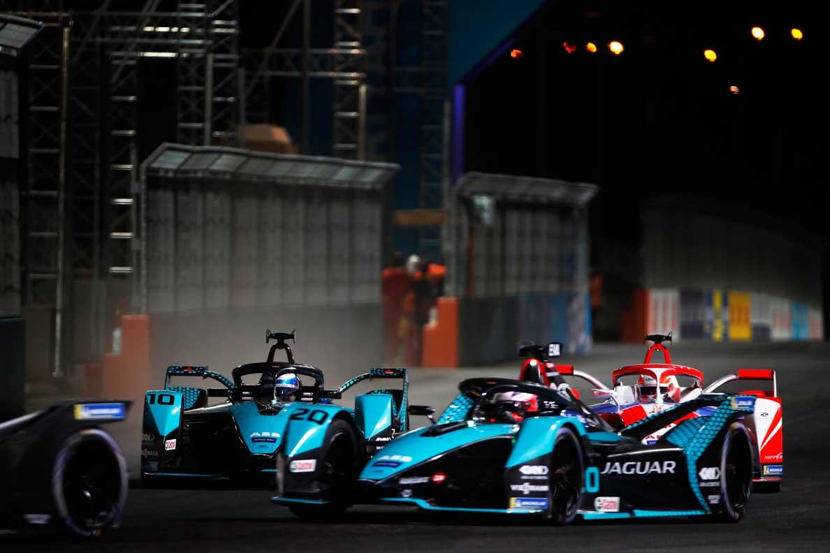 Formula E 2021 -Podium Finish For Mitch Evans & jaguar racing Under The Lights At The Diriyah E-Prix