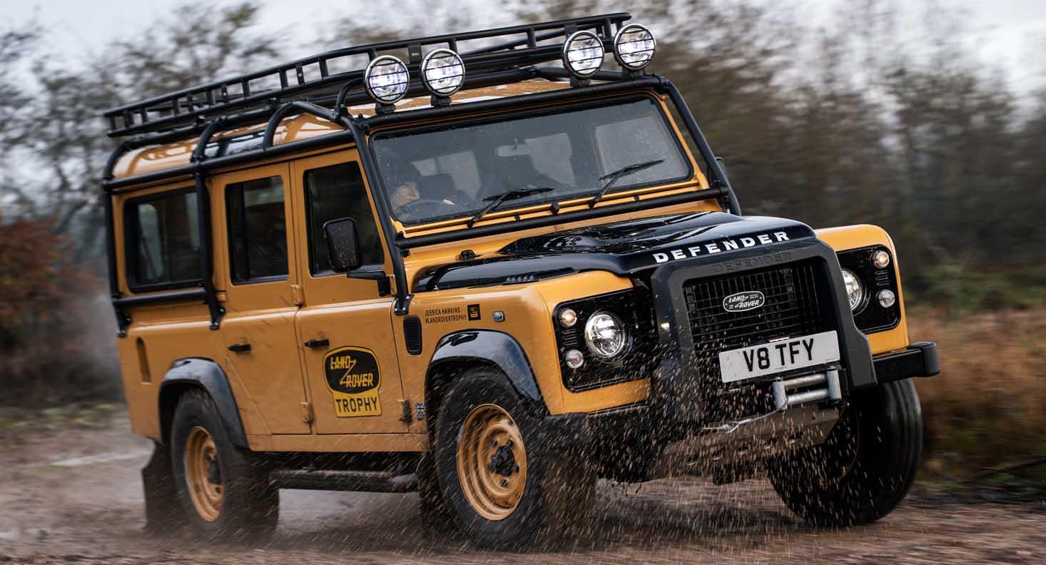 Land Rover Defender Works V8 Trophy 2021 – Adventure Ready