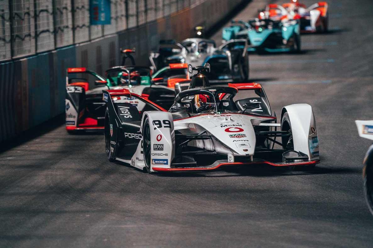 Porsche Earns Vital Points At The Start Of The Formula E Season