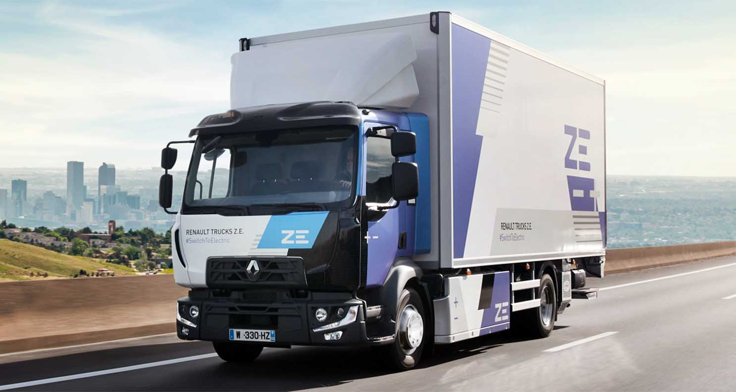 Renault Trucks To Offer An Electric Range For Each Market Segment From 2023