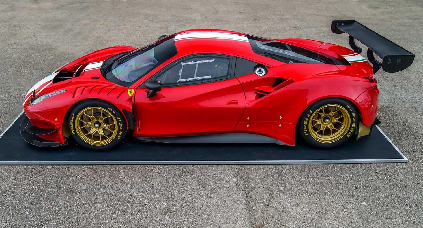Pirelli Presents: P Zero DHE For The New Ferrari 488 GT Modificata