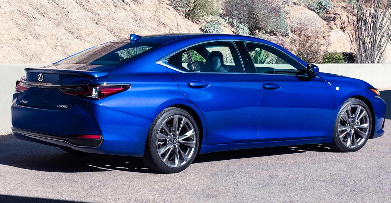 New Lexus ES – Australian Success Leads To Range Expansion
