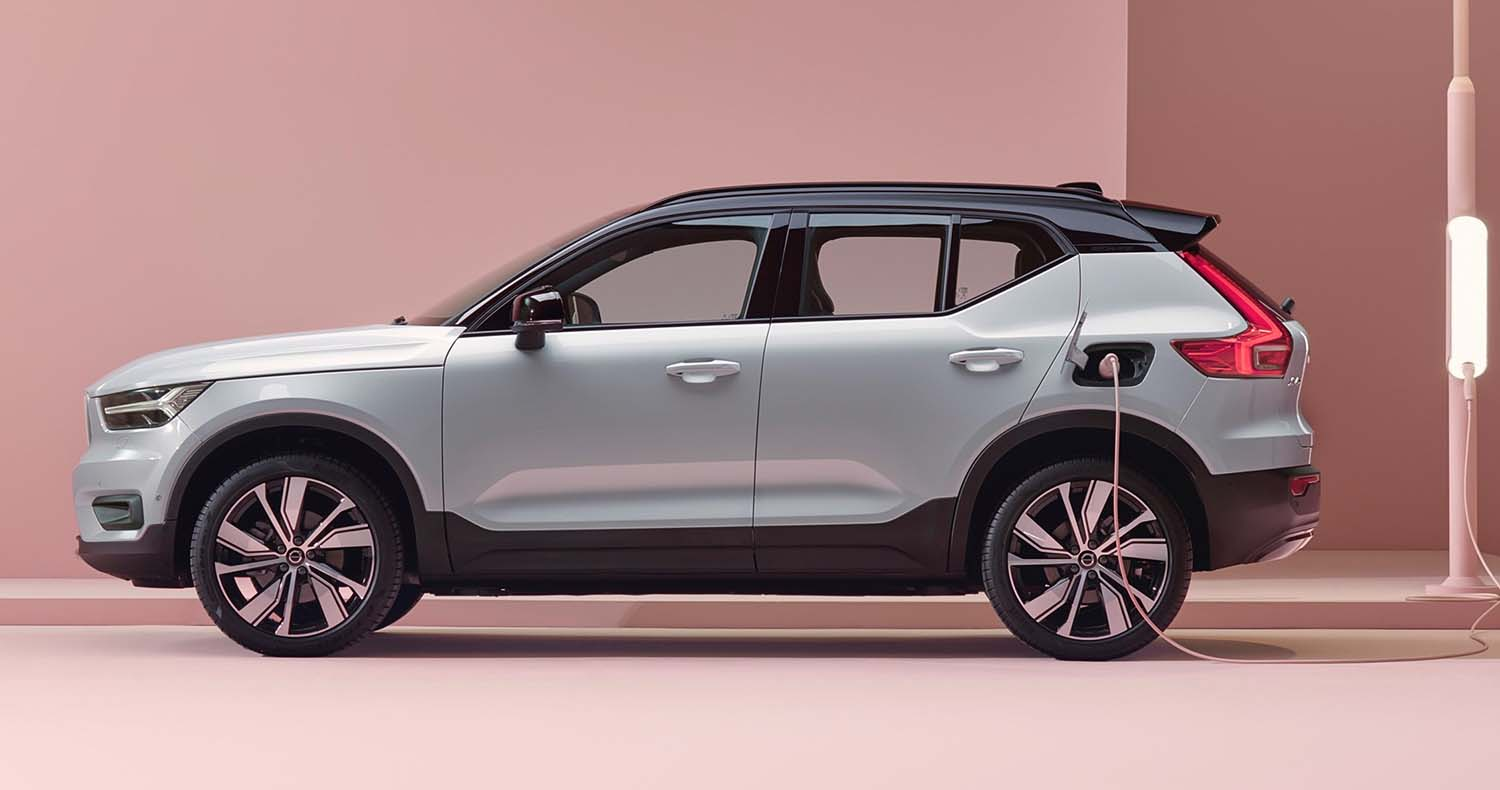 Volvo XC40 Recharge Earned The Top Safety Pick Plus From IIHS