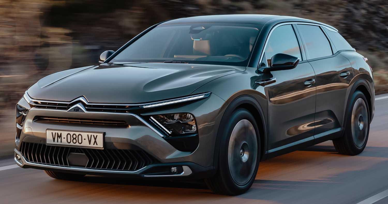New Citroen C5 X: Price List Of Citroën's Grand Tourer In France