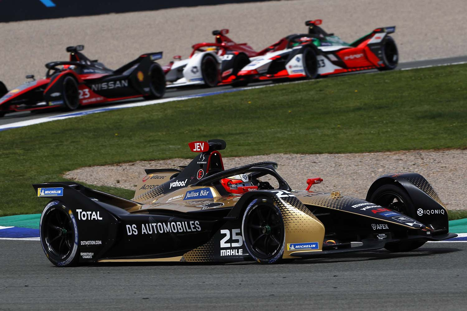 Points For Vergne And Ds Techeetah In The Second Race Of The Valencia E-prix