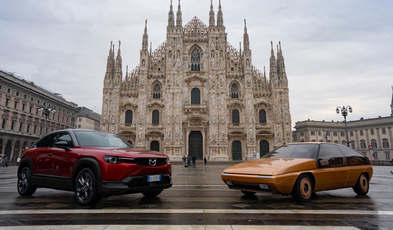Mazda Design Is Celebrating 60 Years of Italian Influence