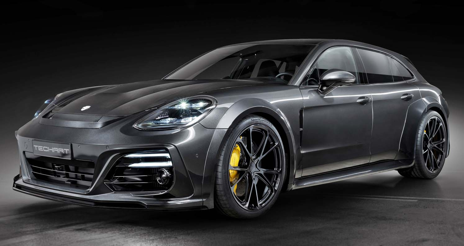 Porsche Panamera Techart GrandGT (2022)