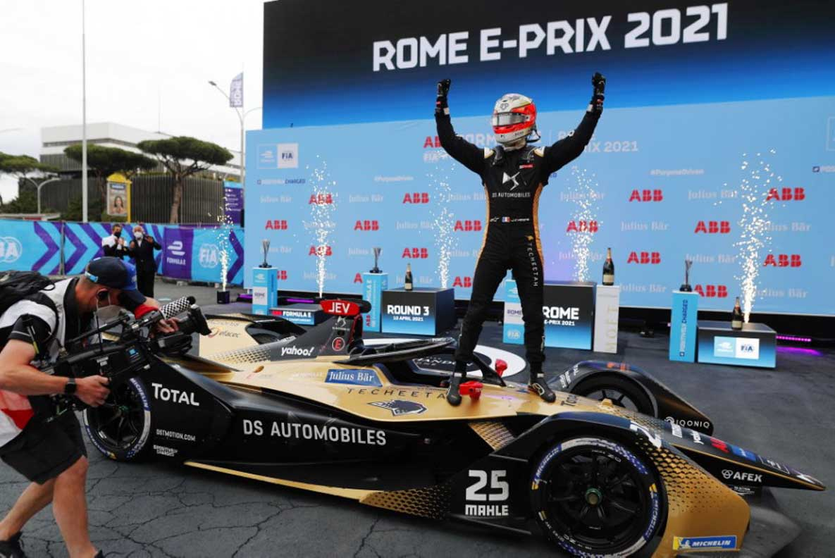 Formula E – Veni, Vidi, Vici, Vergne: Former Champion Returns To Winning Ways In Rome