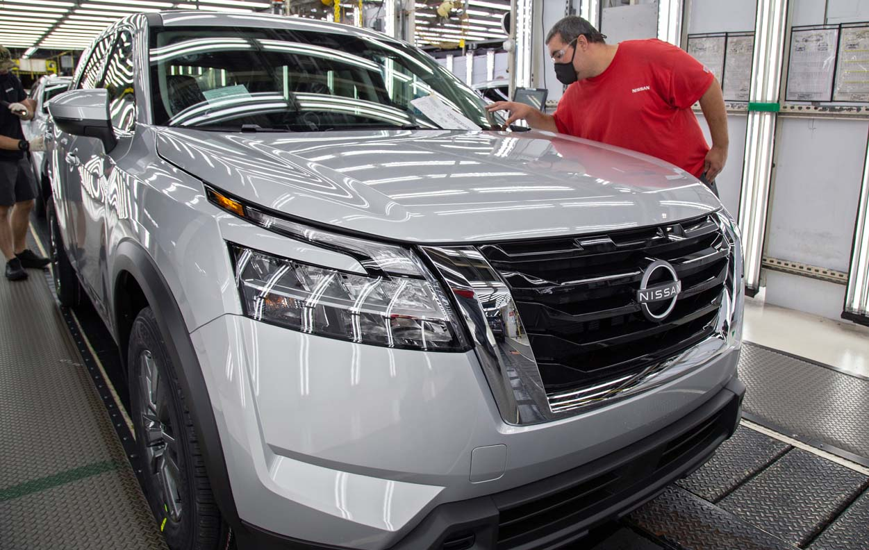 Production Started For The All-New 2022 Nissan Pathfinder
