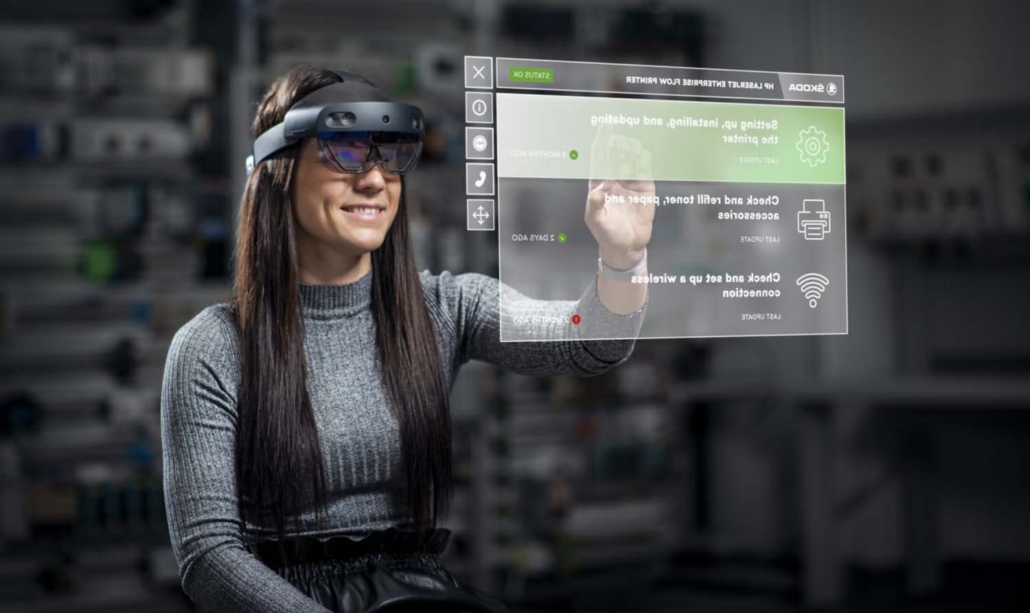 Škoda Auto Tests Augmented Reality Glasses For Production Line