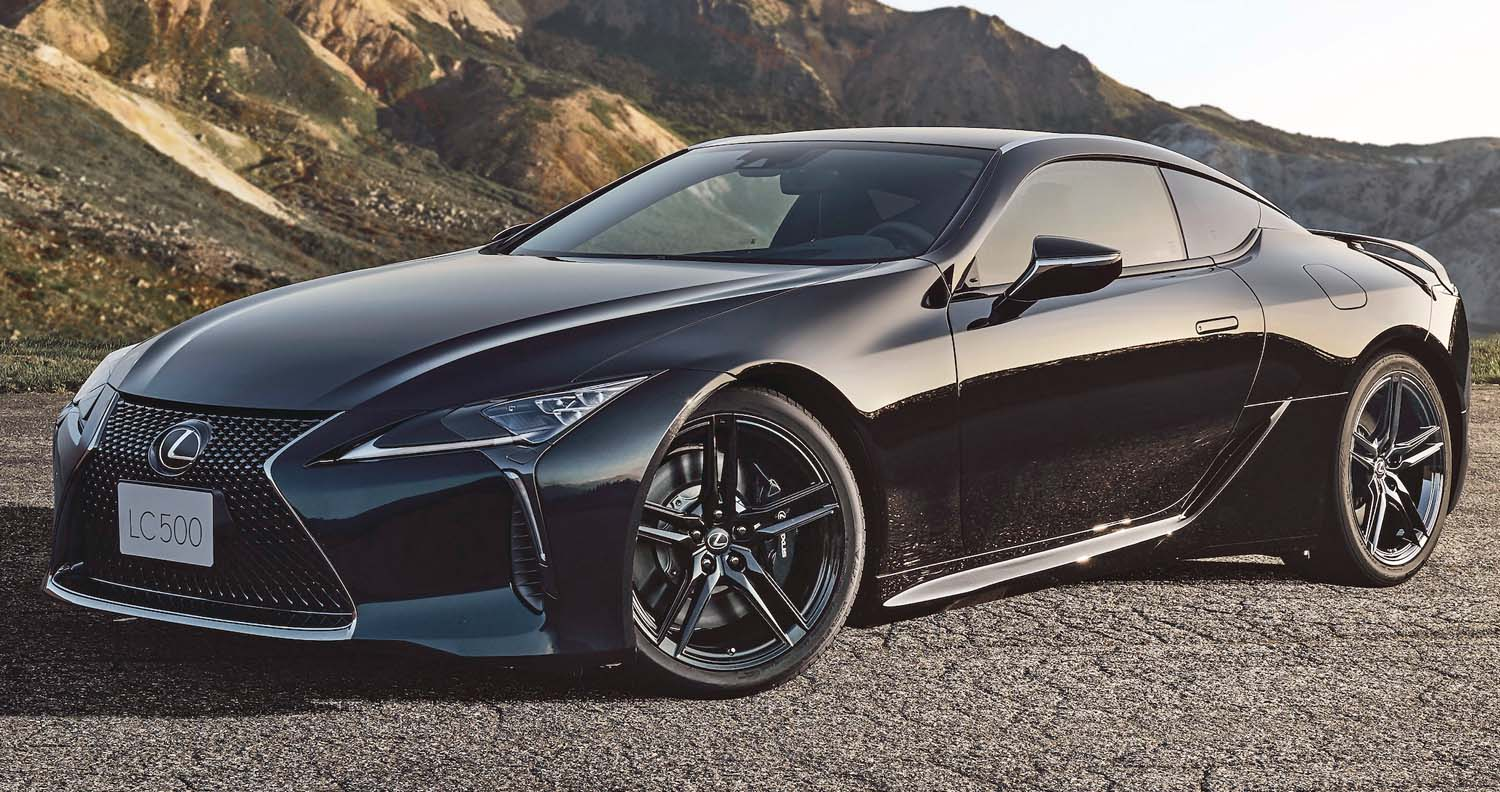 Aviation-Inspired Lexus LC Inspiration Series Special Edition Now Available To Order