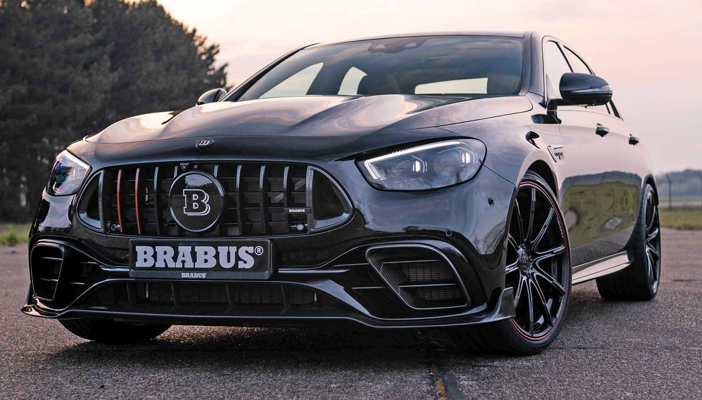 Meredes AMG E63 Brabus 800 – Wolf In Sheep's Clothing