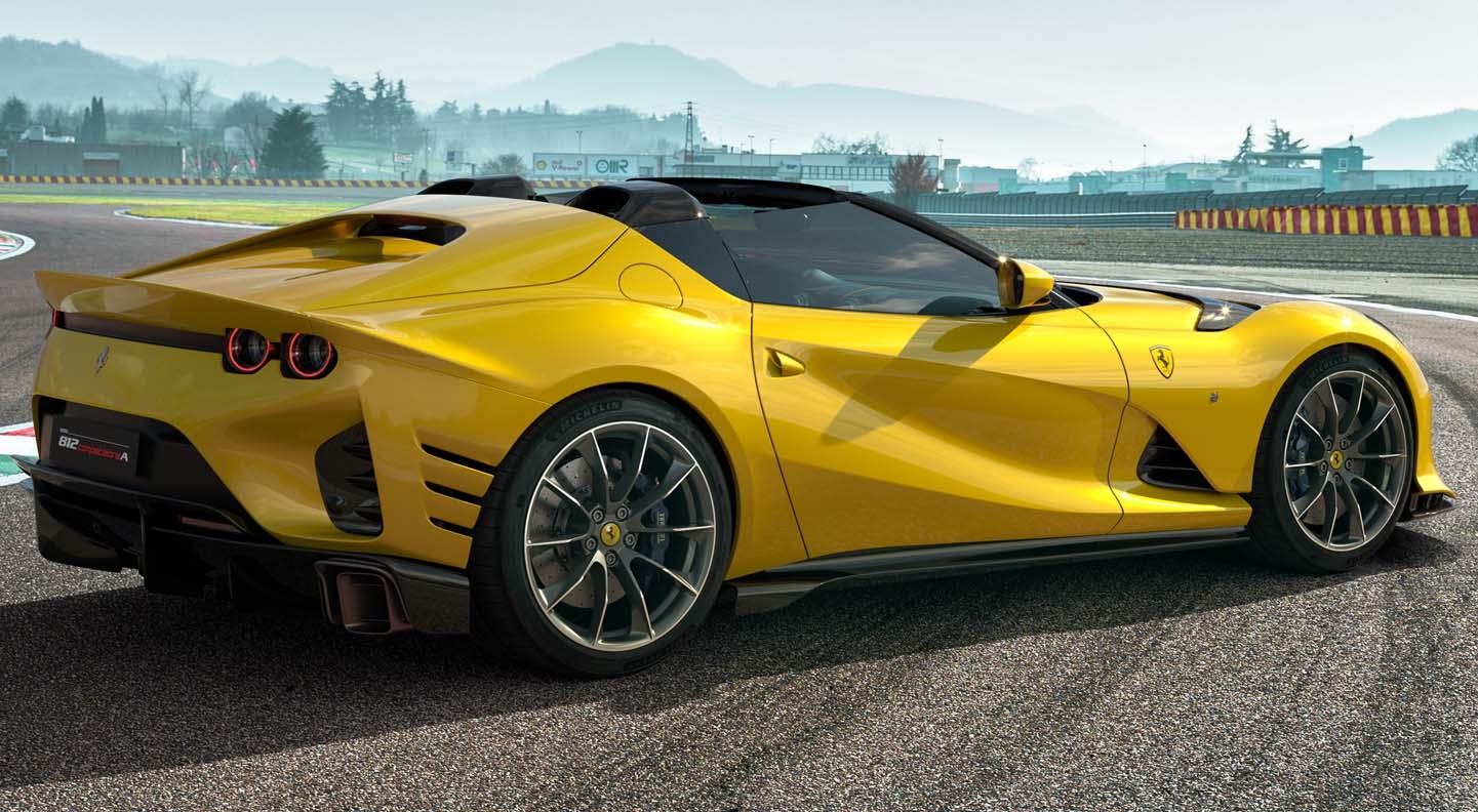 Ferrari 812 Competizione And 812 Competizione A – Two Interpretations Of Ferrari's Racing Soul