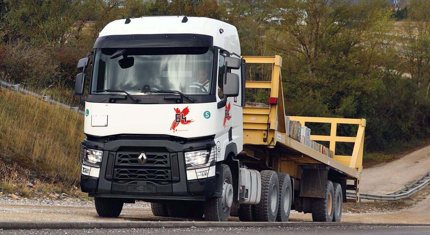 Renault Trucks T X-64: Innovative Solution Designed For The Middle East And Africa