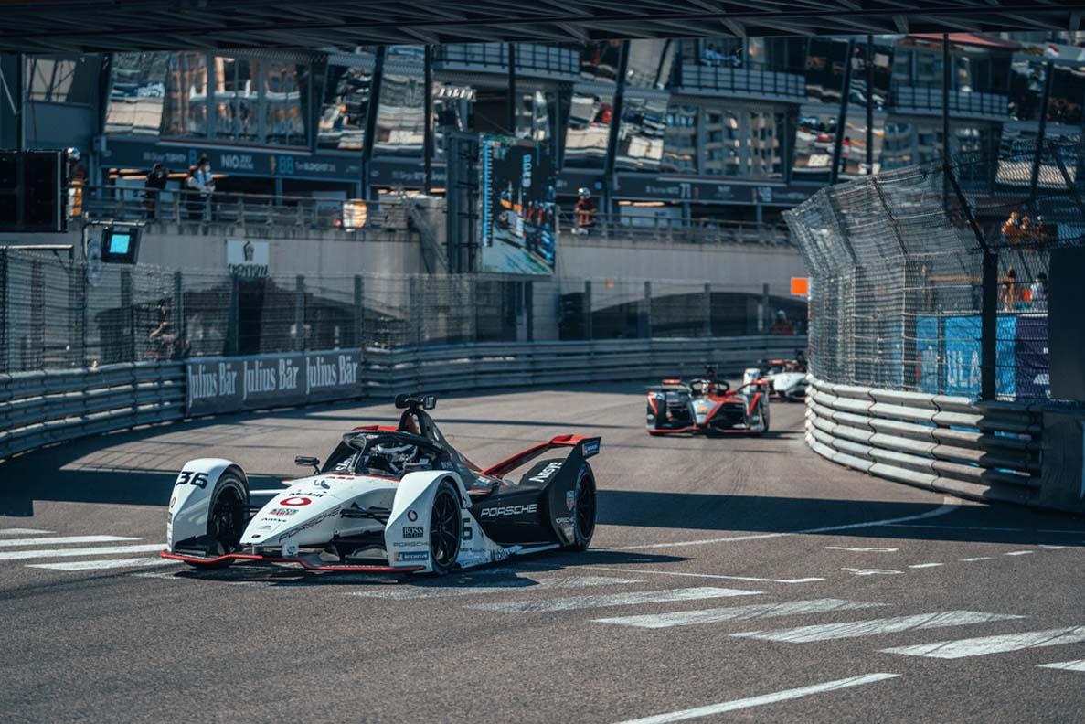 Unlucky Monaco Premiere For The Tag Heuer Porsche Formula E Team