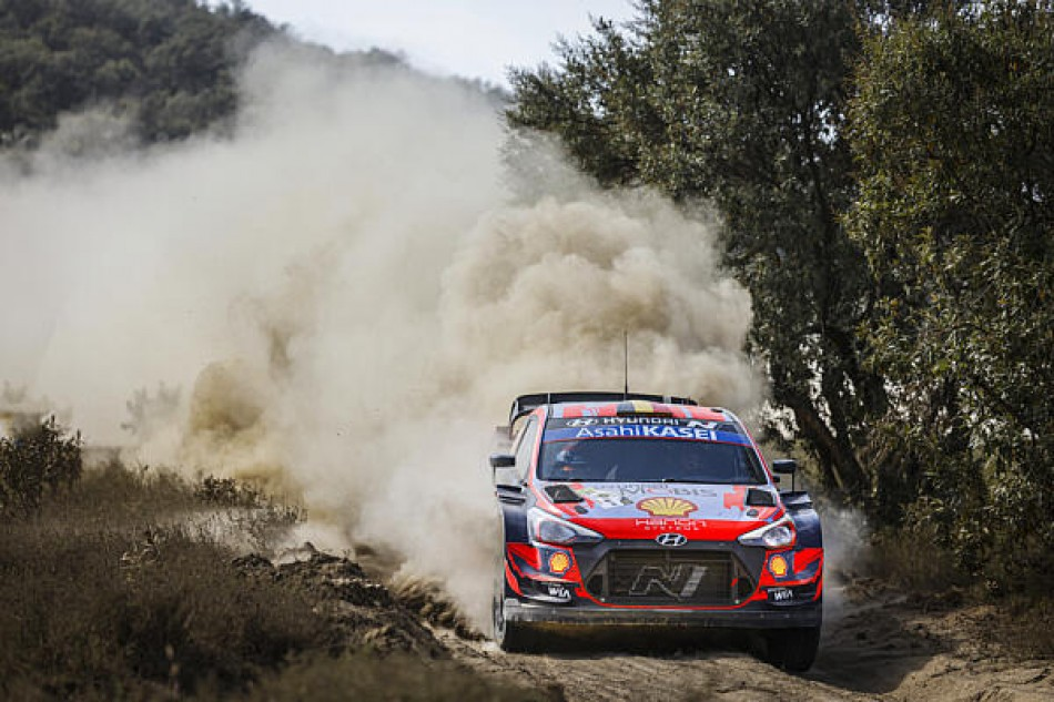 WRC- Neuville On Top At Safari Rally Kenya After Merciless Opening Morning