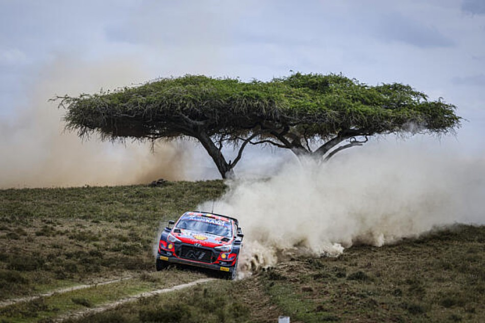 WRC- Neuville Leads As Punishing Safari Rally Kenya Decimates Big Guns