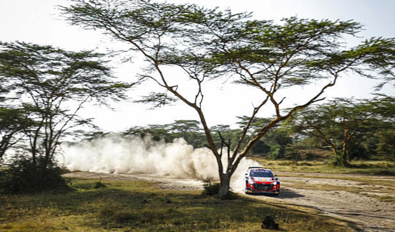 WRC – Neuville Extends Lead On Safari Rally Kenya
