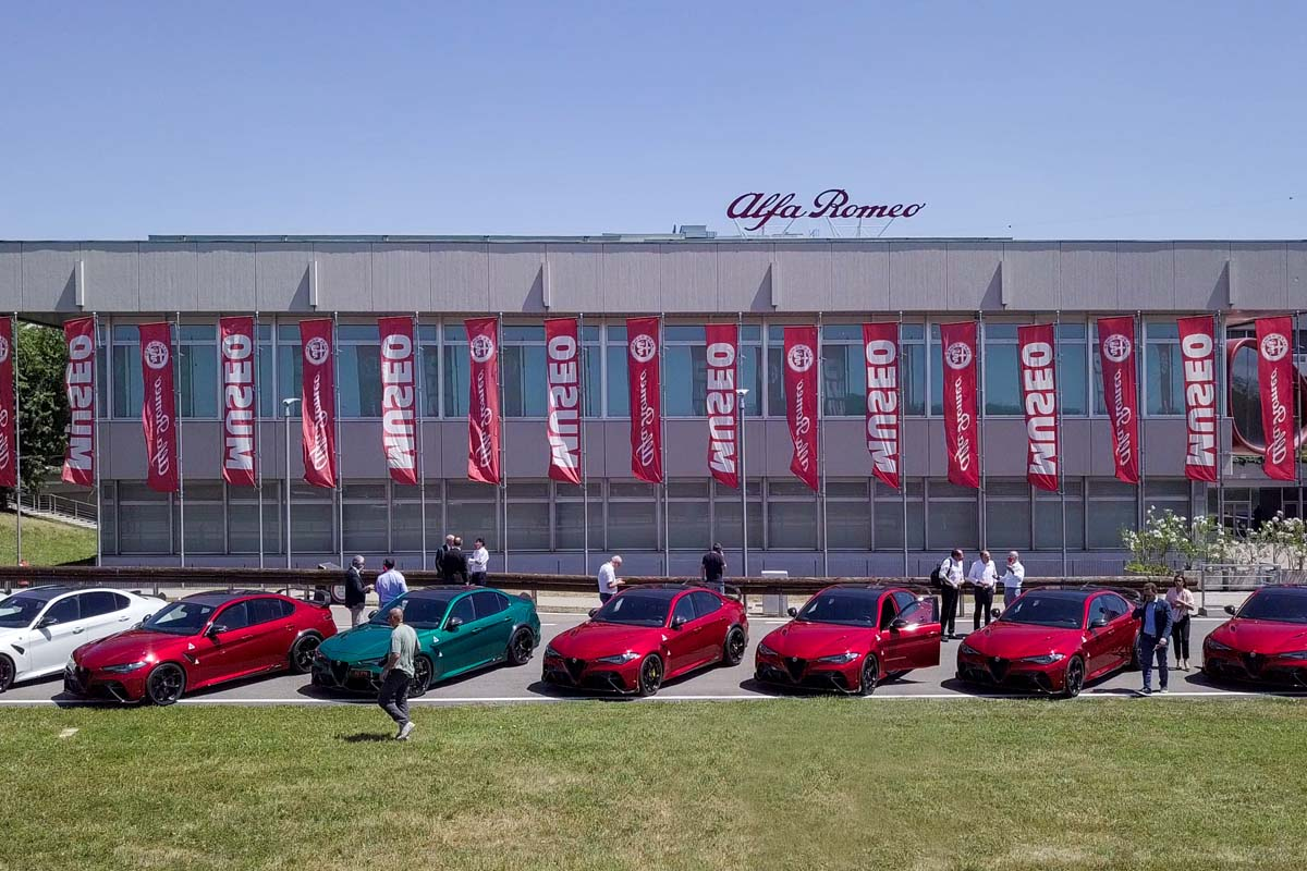 The Museo Storico Alfa Romeo Turned Red For 4 Days
