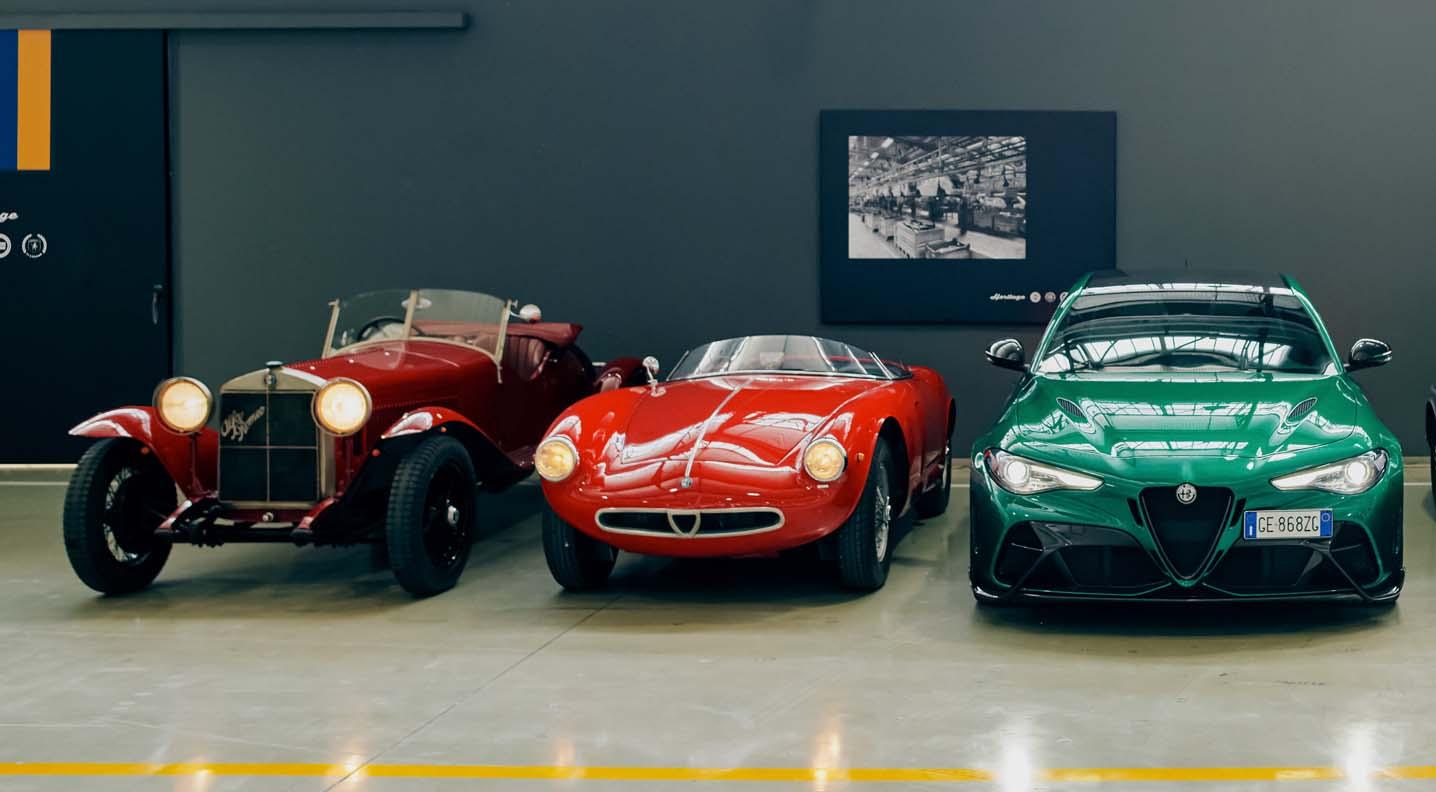 """Alfa Romeo Reigns Supreme At The 39th Historic Run Of The """"1000 Miglia"""""""