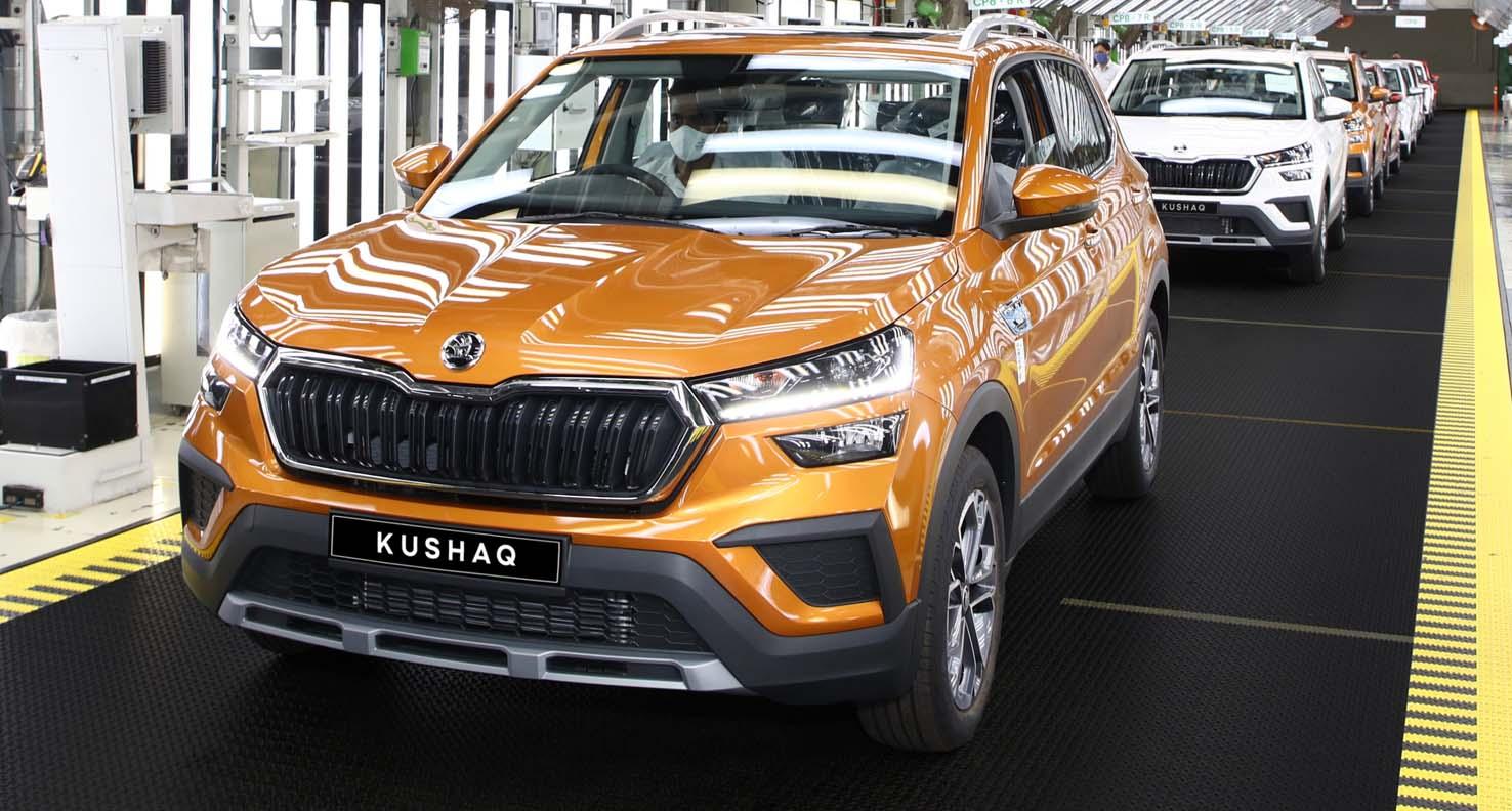 Škoda India Started Production Of The New SUV: Kushaq