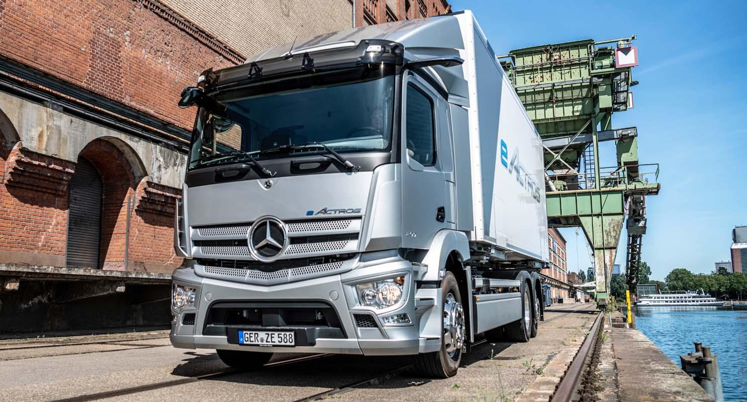 Mercedes-Benz eActros – A New Truck For A New Era