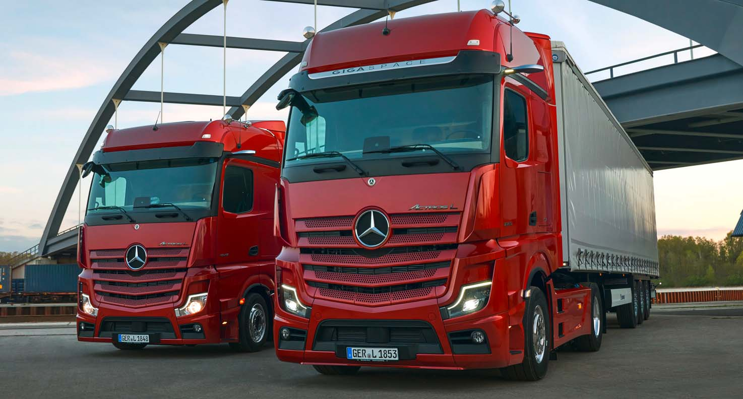 Mercedes-Benz Actros L – The New Standards In The Premium Segment For Long-Distance Haulage Trucks