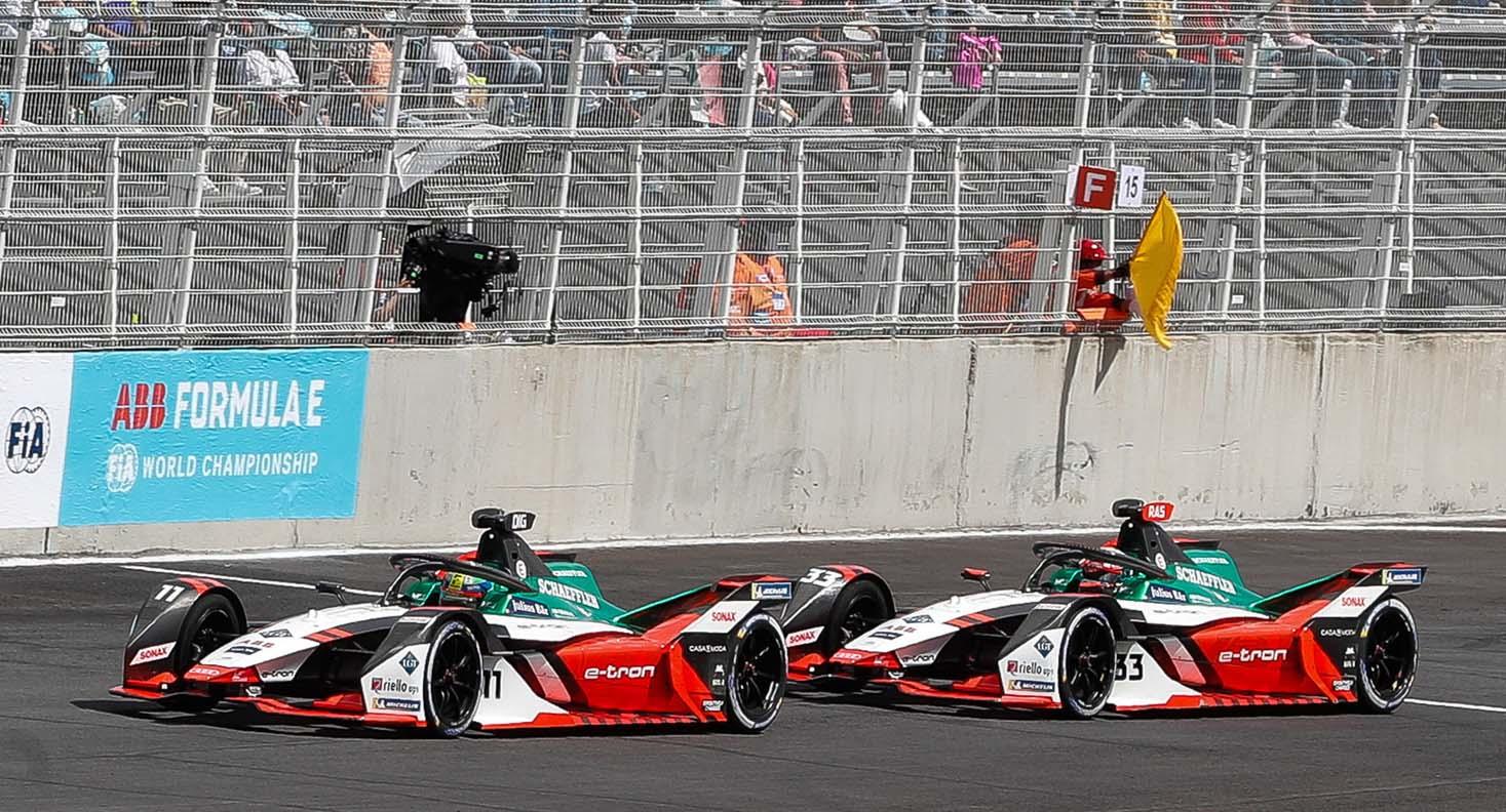 1-2 Victory In Mexico – Audi Triumphs In Formula E