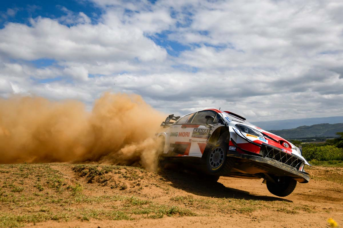 WRC- Ogier Claims First Stage Win In Tight Safari Rally Kenya Opener