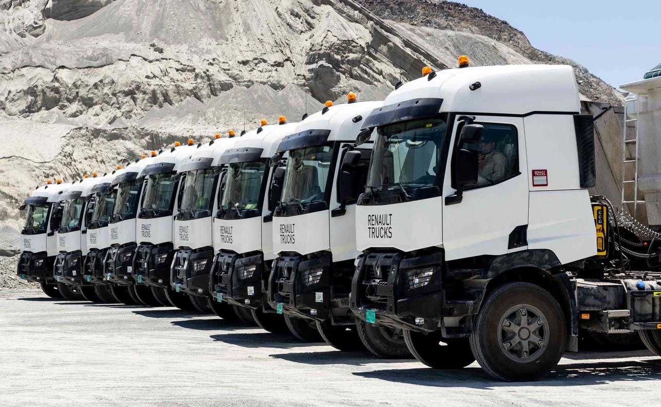 New Fleet Deal For Ten Renault Trucks K 480 6X4 Tractor In Fujairah