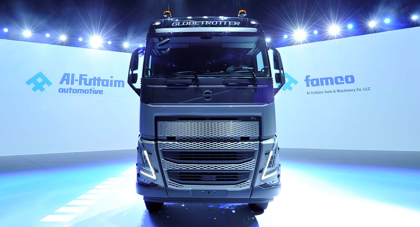 Famco Launches New Range Of Heavy-duty Volvo Trucks Models In The UAE