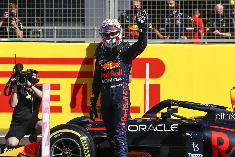 F1 – Verstappen Wins Inaugural Sprint Qualifying To Claim Pole For British Gp Ahead Of Hamilton And Bottas