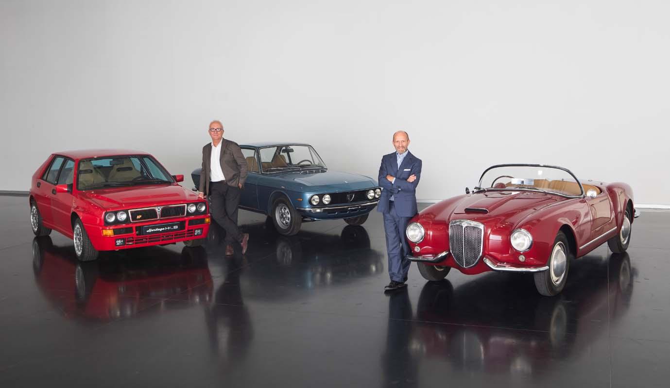 Luca Napolitano Celebrates 115 Years Of Lancia History