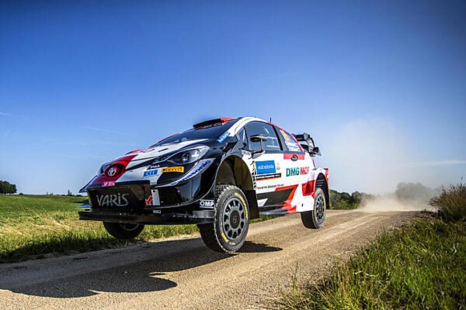 WRC- Rovanperä Claims Slender Early Lead On Rally Estonia