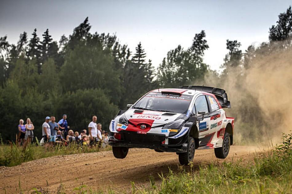 WRC- Rovanperä Shines & Keeps Breen At Bay In Estonia Battle