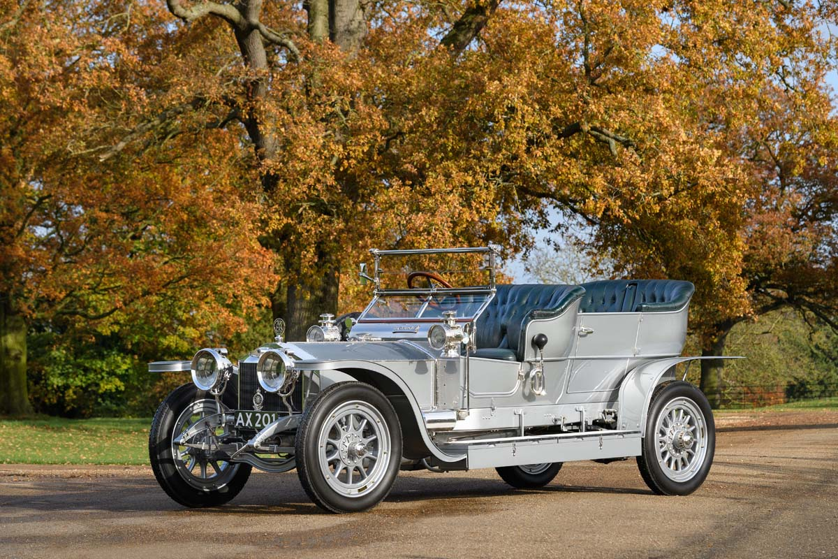 Concours Of Elegance Welcomes The Most Important Rolls-Royce In The World