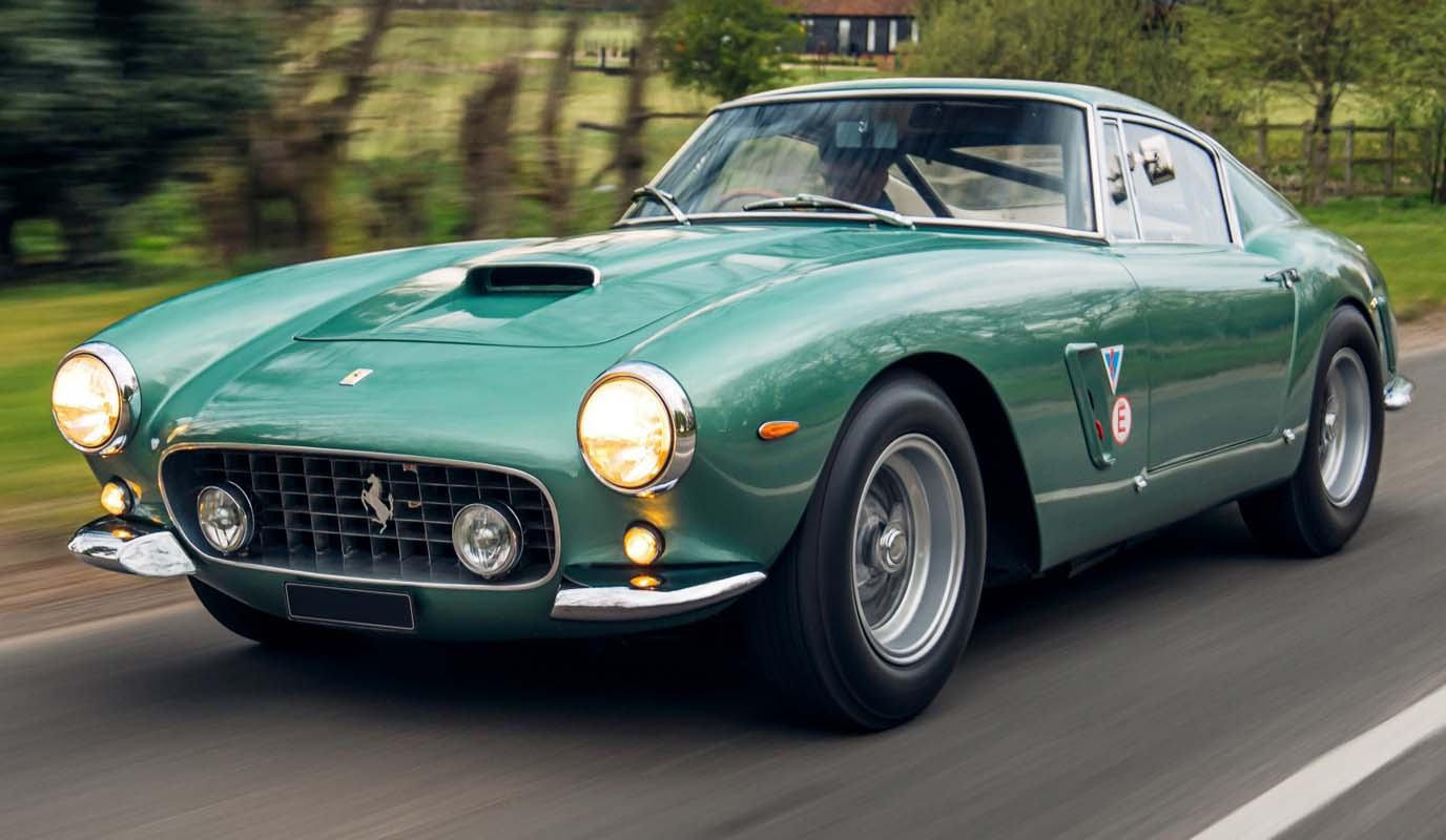 A Fabulous Display Of Ferraris Joins Concours Of Elegance