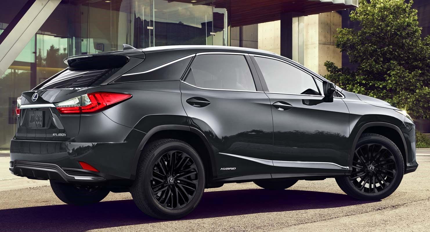 Lexus RX L Black Line (2022)