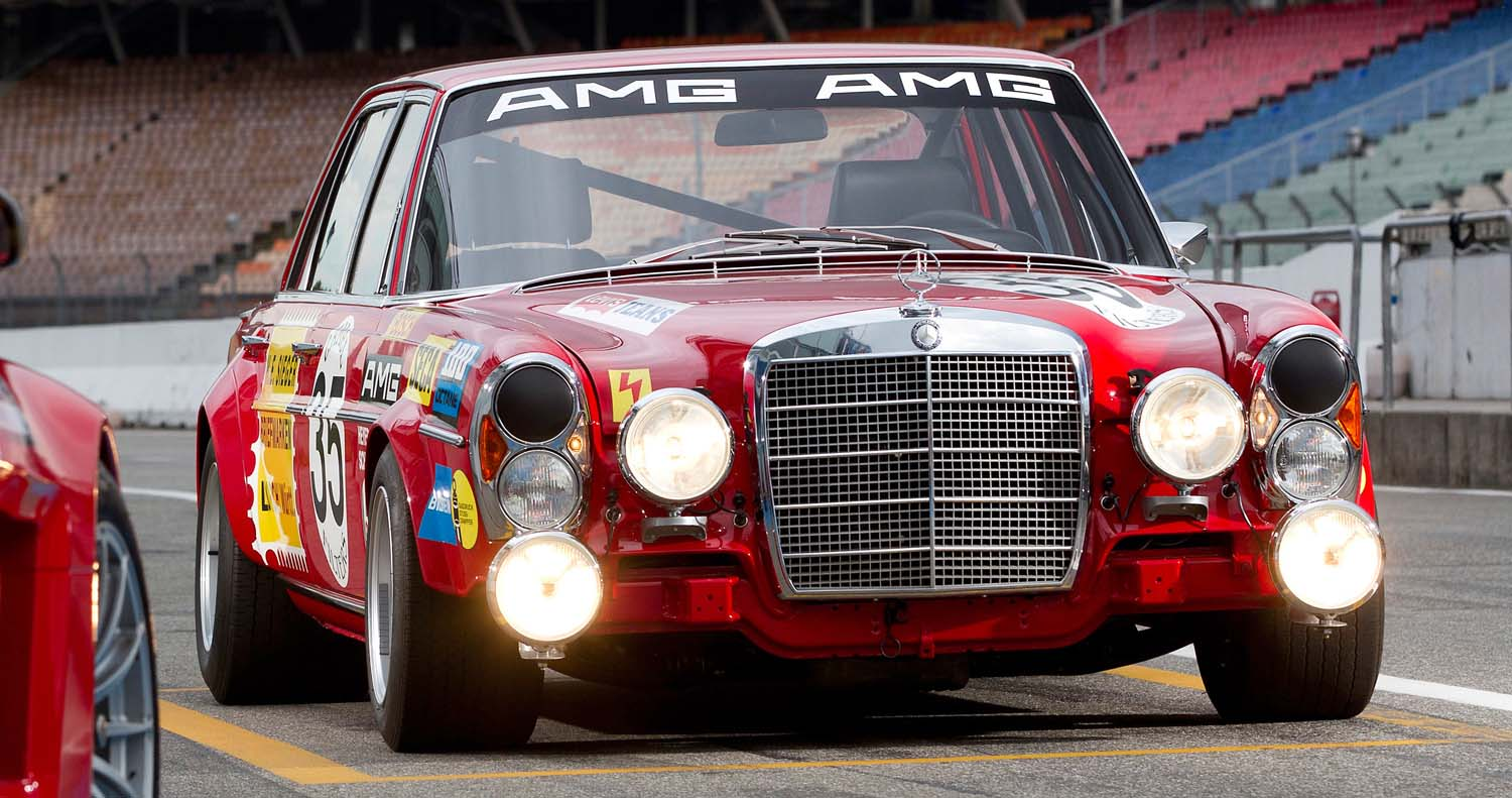 The Sensation At Spa 50 Years Ago: AMG Class Victory At The 24-Hour Race In 1971