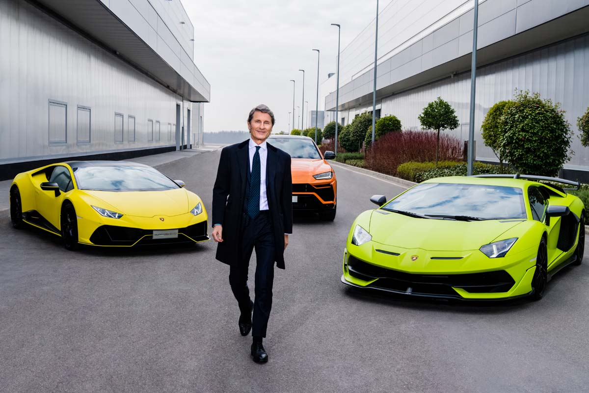 Lamborghini Sales: The Best Half-Year Ever.