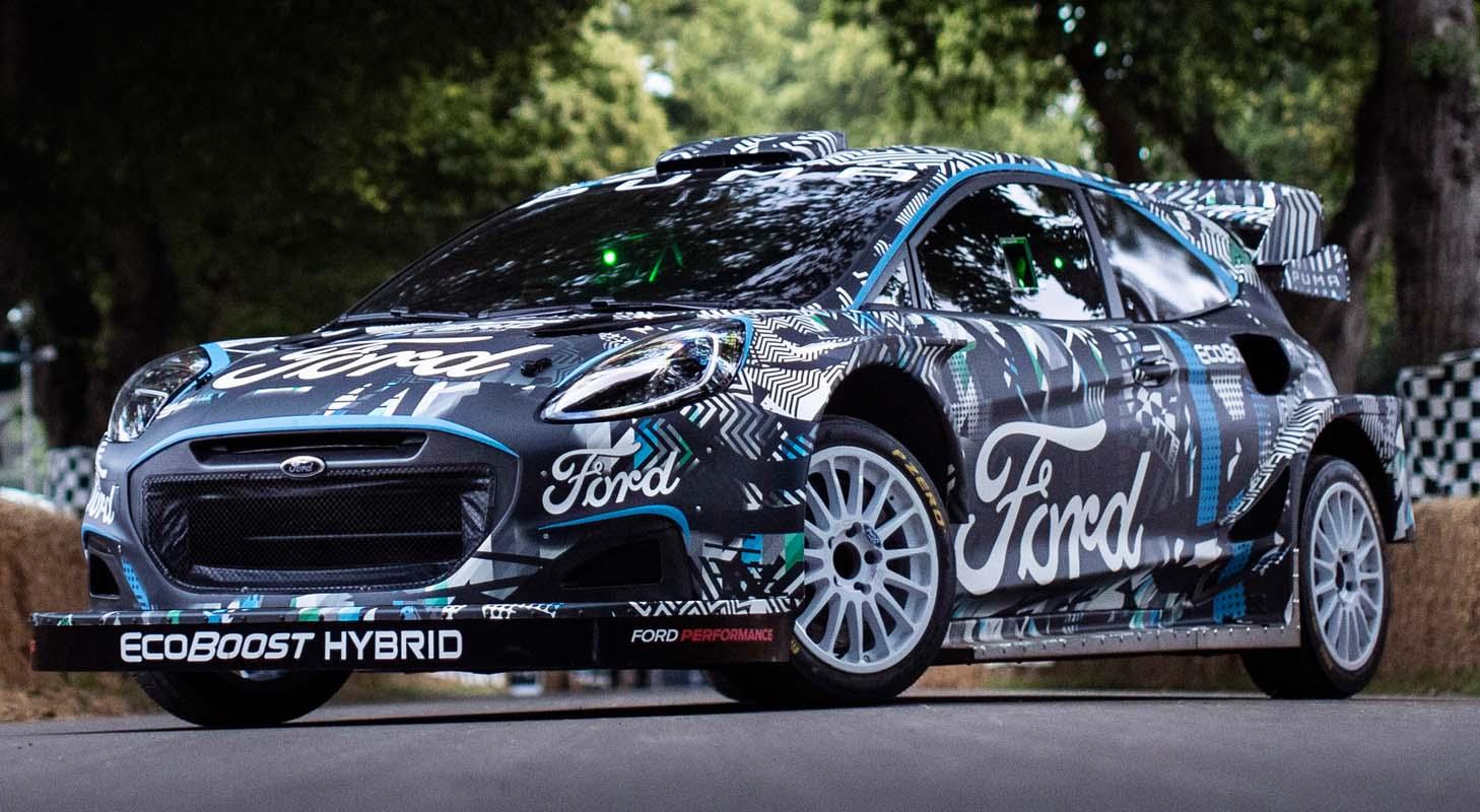 The All-New Ford Puma WRC Car (2022)