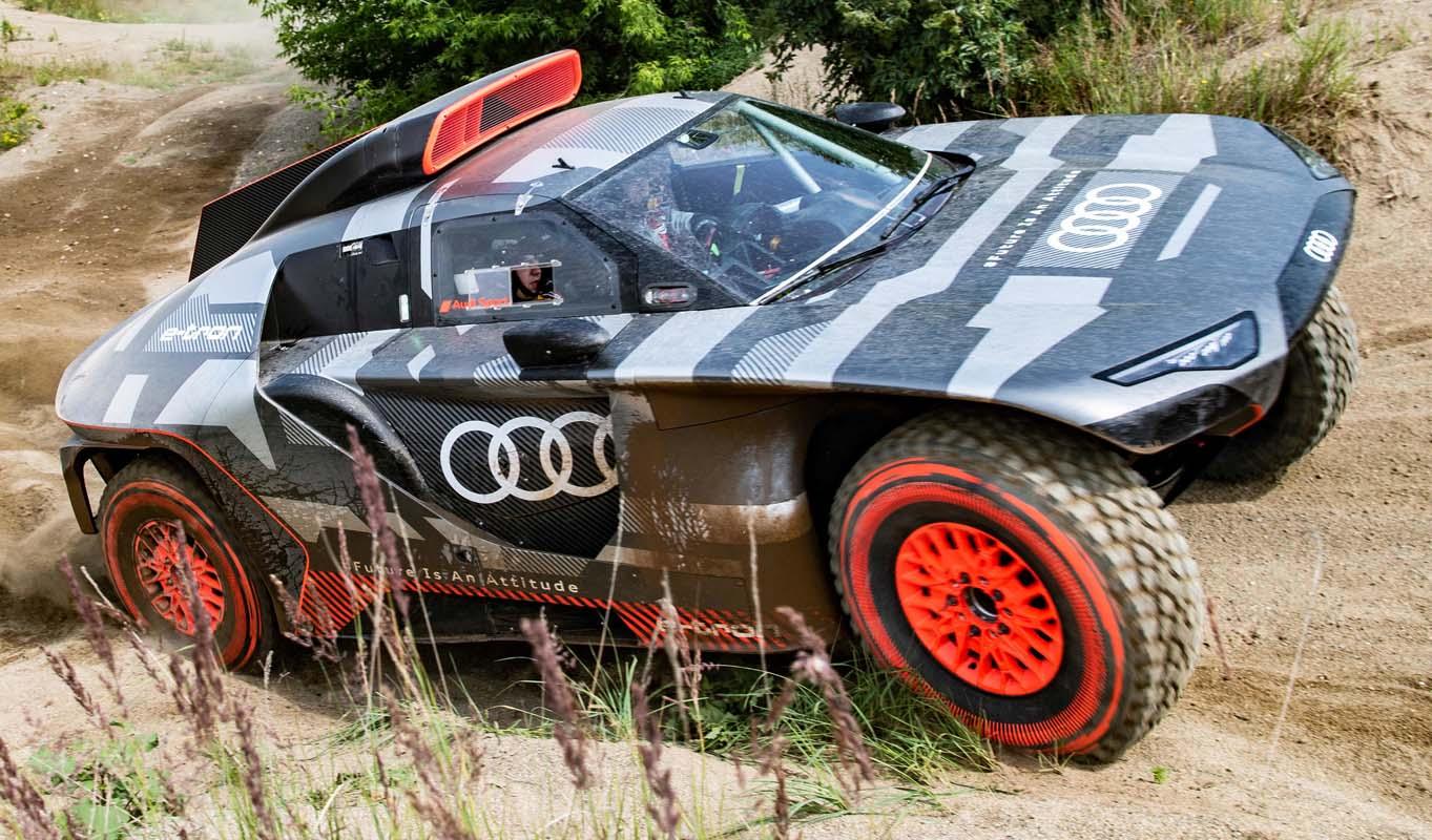 Audi RS Q E-Tron – The Future Technologies For Dakar Rally