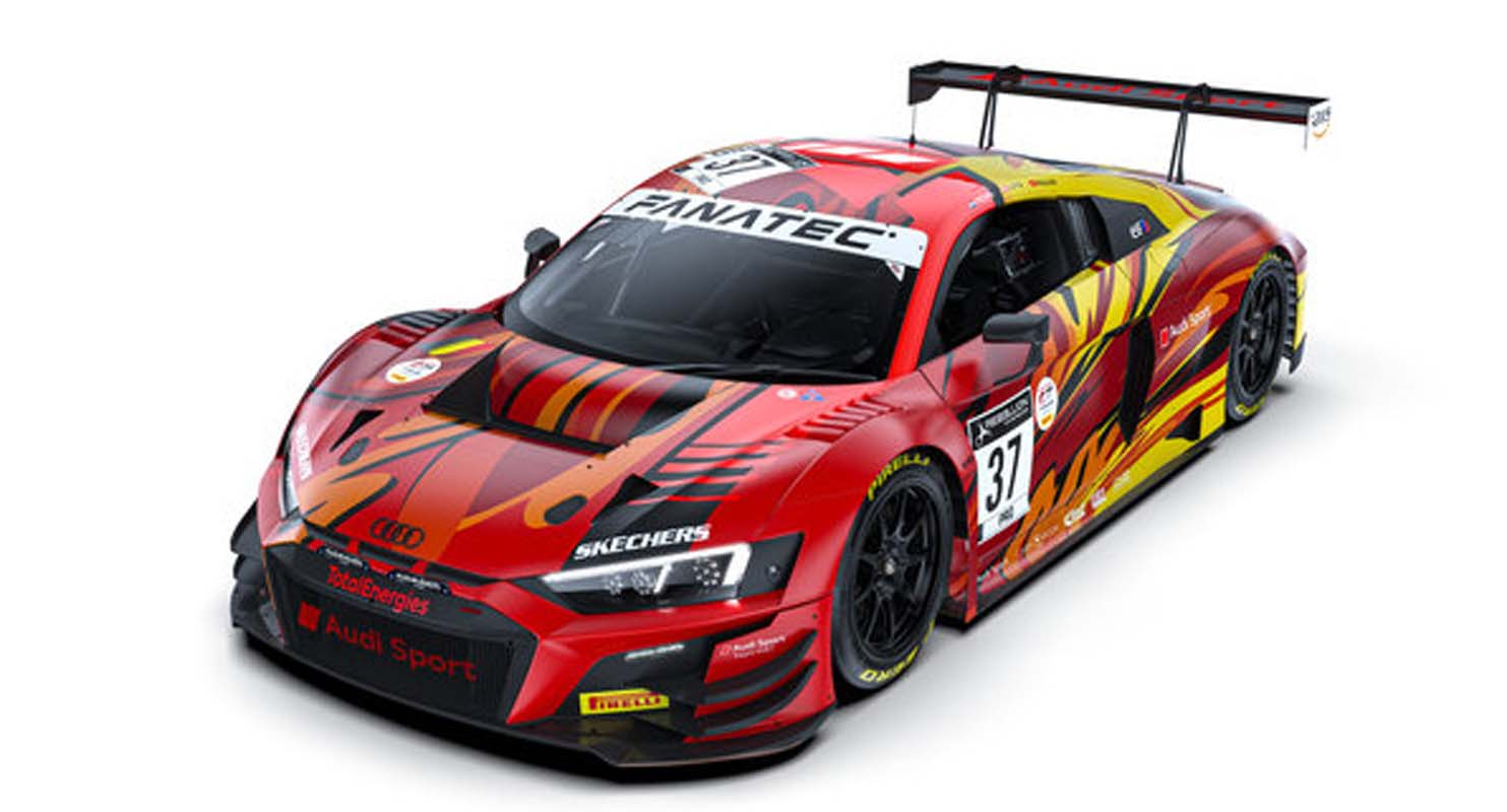 Design GT3 sports cars from Audi Sport for the 100th anniversary of Spa
