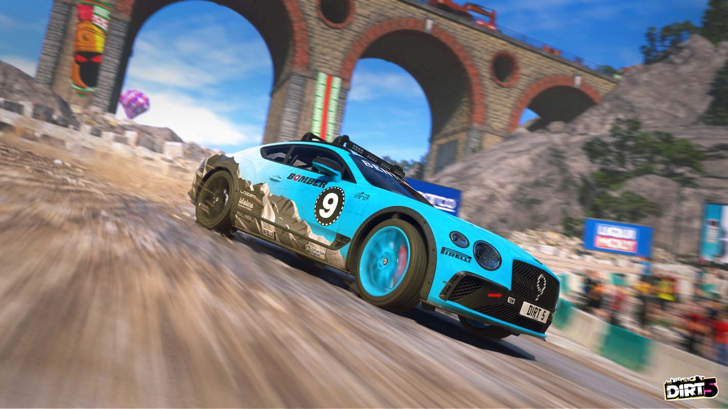 The Bentley Continental GT Ice Race Car Is The Latest Thrilling Addition To The Dirt 5 Game