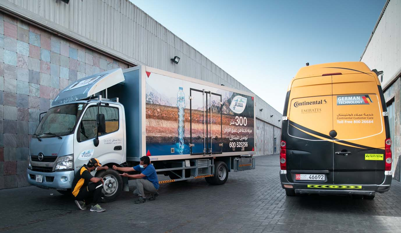 Key Challenges And Stresses Experienced By UAE's Truck Drivers Revealed In A First-Of-Its-Kind Study By Continental