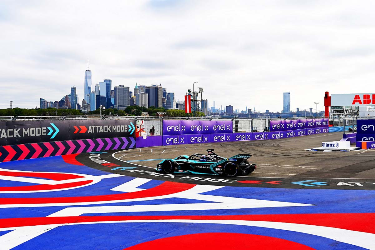 Formula E – Bird Bags Points In Brooklyn For Jaguar Racing